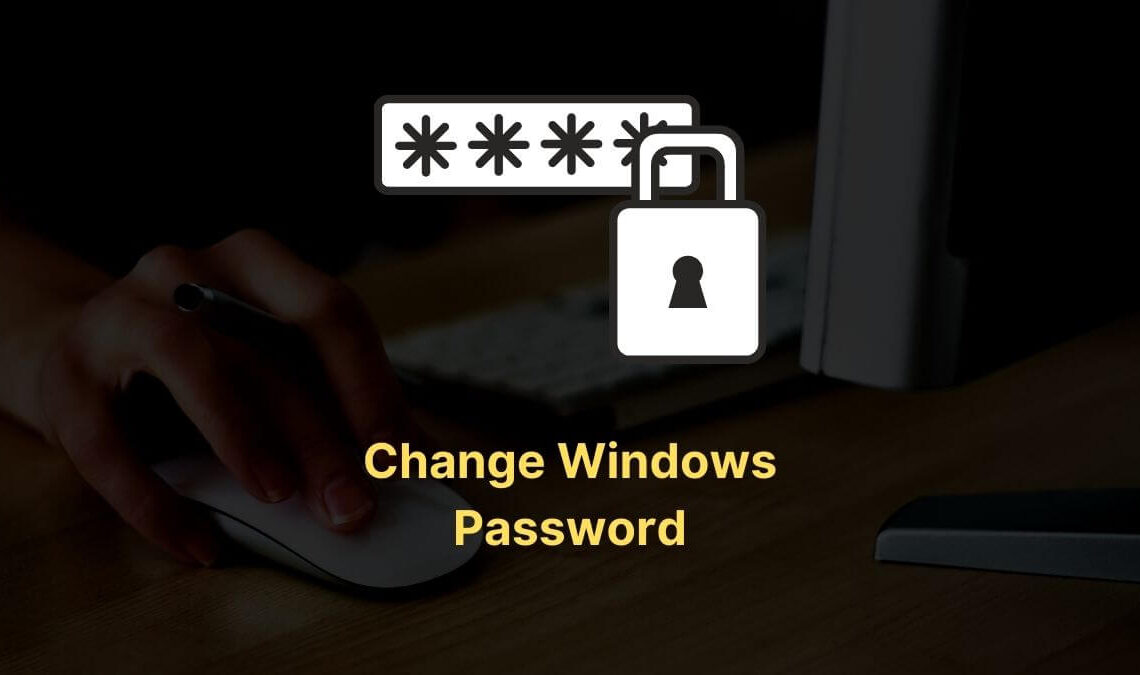 Change Windows Password Without Knowing Old One