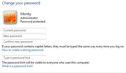 Resett Password