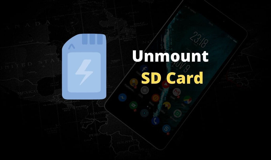Unmount SD Card Safely in Android