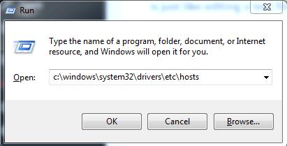 open in run(PC)