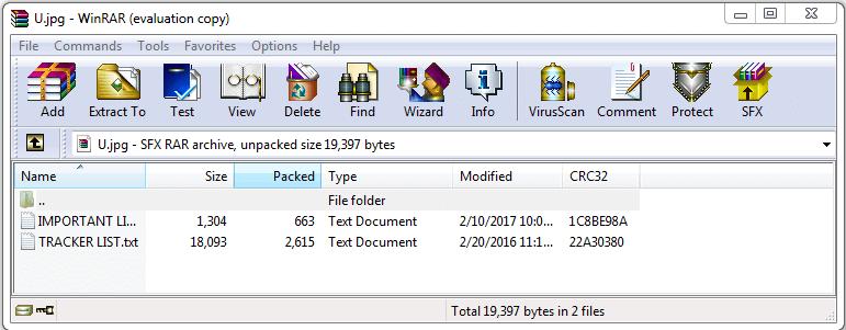 Files In RAR