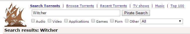 Search - torrent site