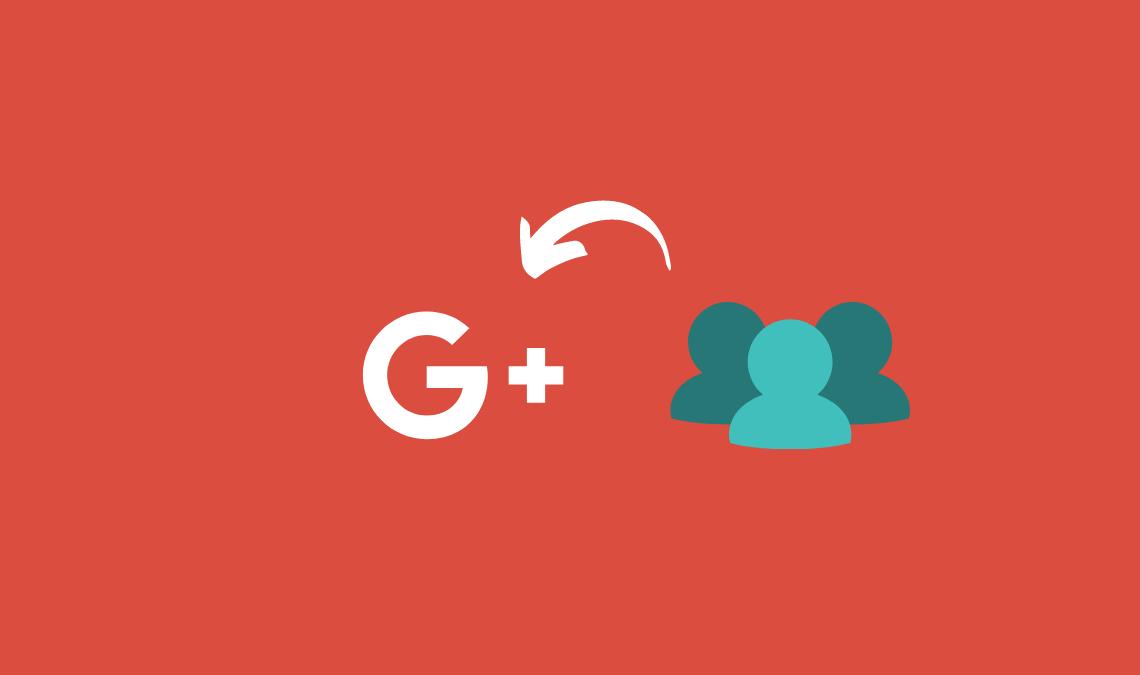 Increase Google Plus Page Followers