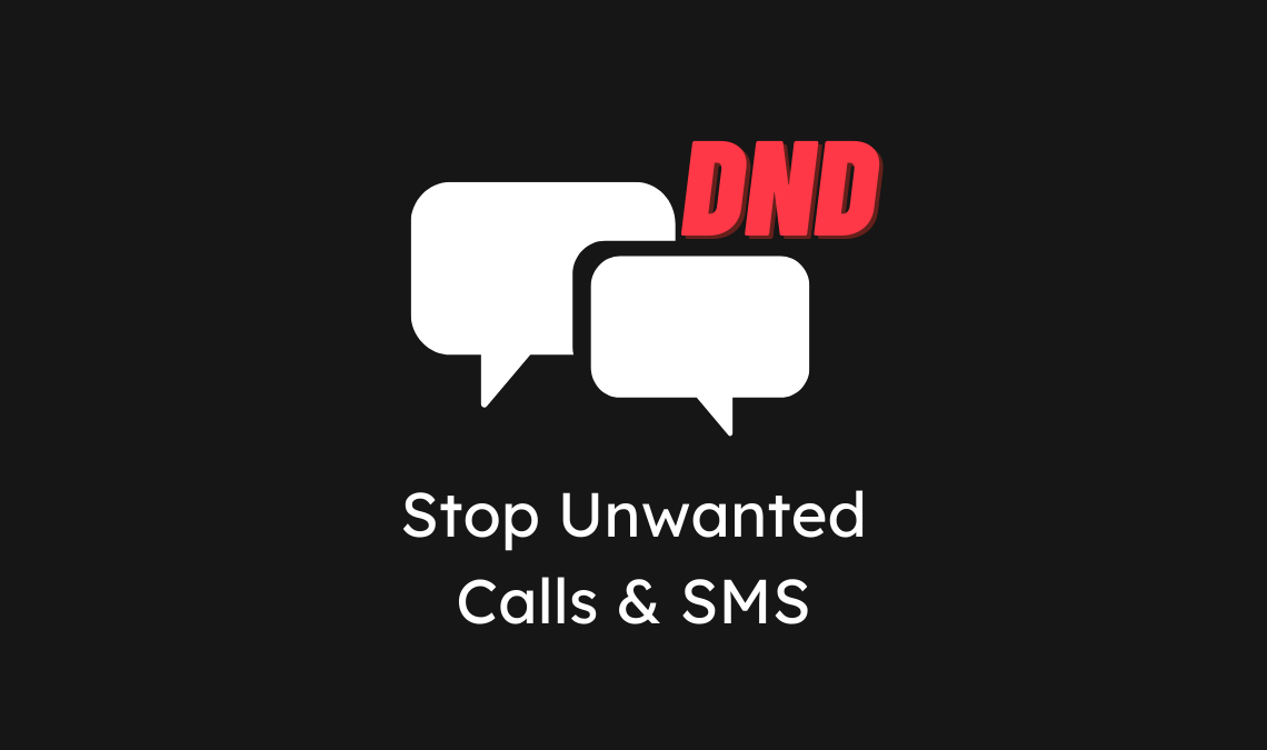 Stop Unwanted Calls and SMS