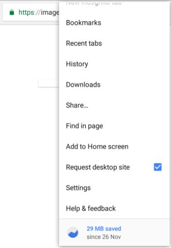 How to Enable Desktop Mode in Google Chrome App