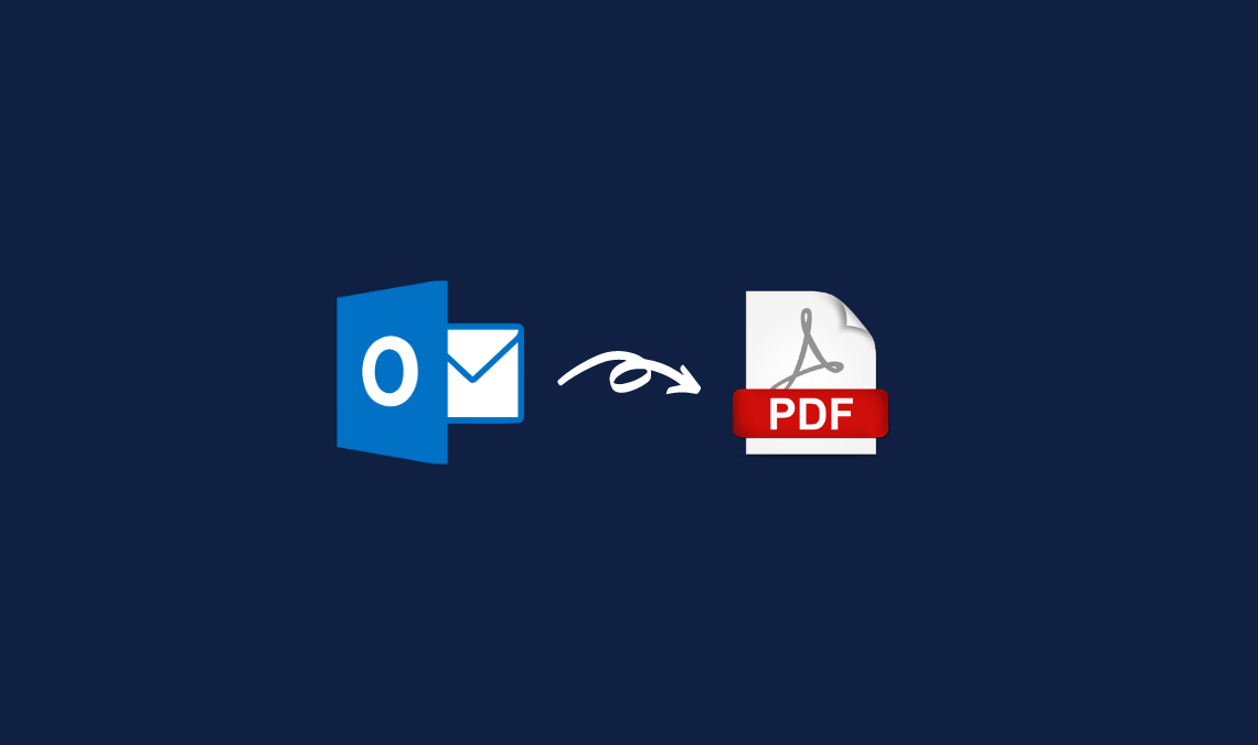 How to Export Outlook Messages to PDF Quickly