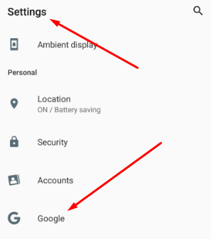 Create Google Account On Android