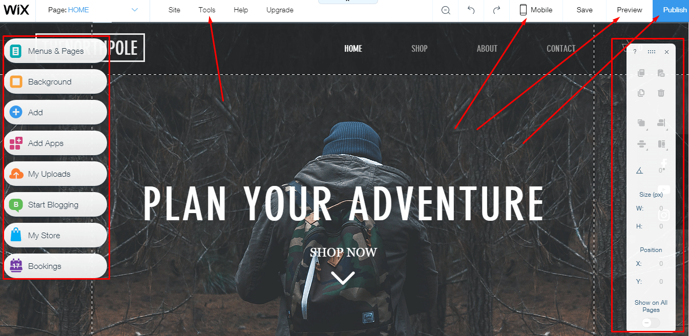 Edit Your Online Wix Store