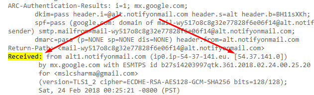 How to Trace IP Address in Gmail - Serarch for Sender's IP Address