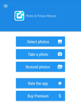 How to Compress Files on Android - Using Photo & Image Resizer 1