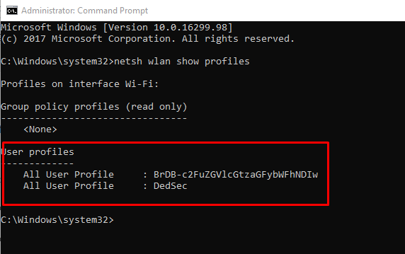 How to Find Your WiFi Password in Windows - Using CMD