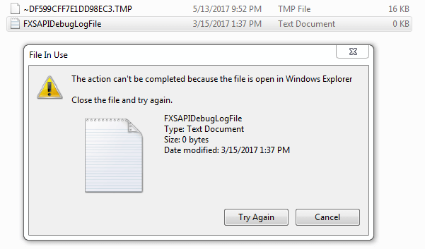 not able to delete