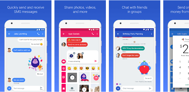 7 Best Free Texting Apps for Android - Android Messages