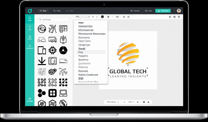 How to Create Logo Online - DesignEvo Review 2