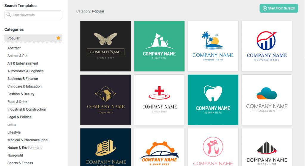How to Create Logo Online - DesignEvo Review 3