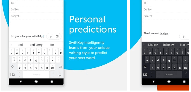 Best Keyboard Apps for Android - SwiftKey
