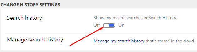 How to Delete Bing History - Turn Off Search History