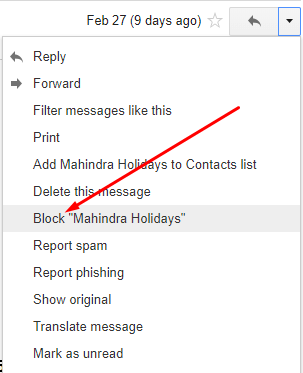 Click Block Email