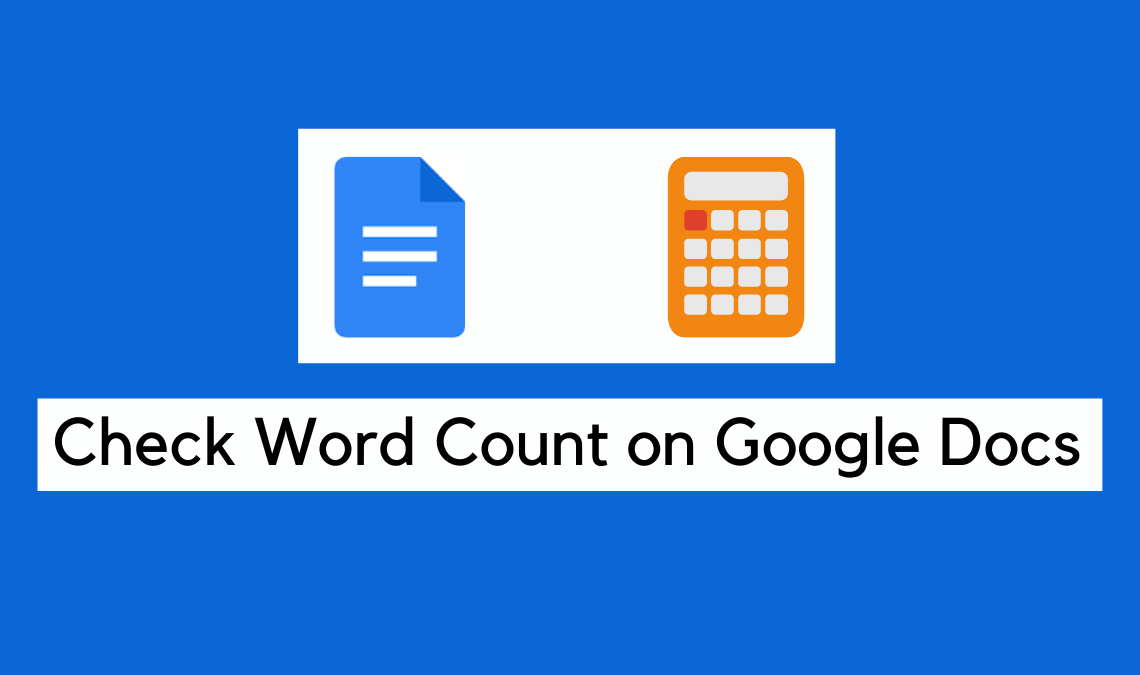 Find The Number of Words in a Google Document