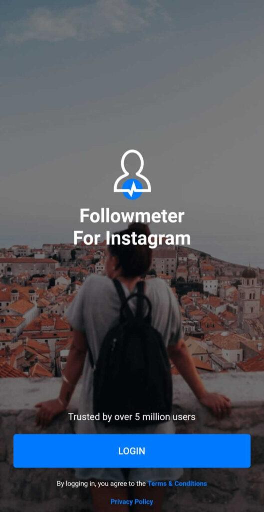 Followmeter app to check who viewed my Instagram
